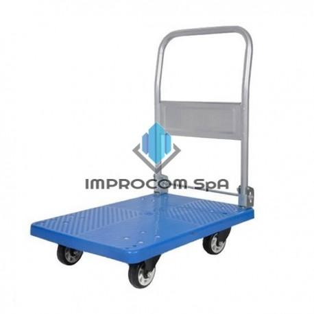 CARRO PLANO PVC PLEGABLE 150 KILOS